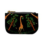 Retro Giraffe Coin Change Purse Front