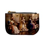 Piano and Harp Coin Change Purse Front