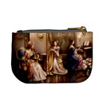 Piano and Harp Coin Change Purse Back