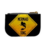 Mermaid Crossing Coin Change Purse Back