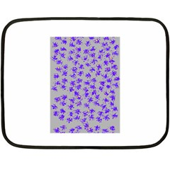 Purple Pattern Fleece Blanket (mini)