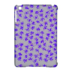 Purple Pattern Apple iPad Mini Hardshell Case (Compatible with Smart Cover)
