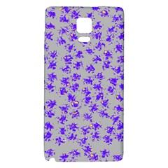 Purple Pattern Galaxy Note 4 Back Case