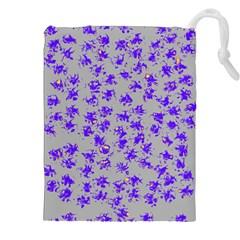 Purple Pattern Drawstring Pouches (xxl)