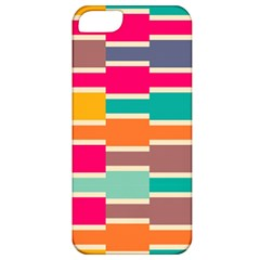 Connected colorful rectanglesApple iPhone 5 Classic Hardshell Case