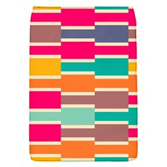 Connected colorful rectanglesRemovable Flap Cover (S)
