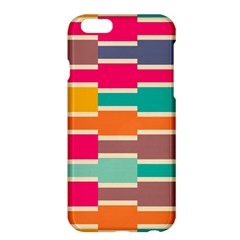 Connected Colorful Rectangles			apple Iphone 6 Plus/6s Plus Hardshell Case