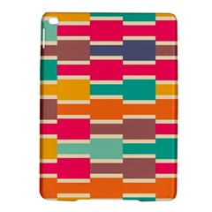Connected colorful rectangles			Apple iPad Air 2 Hardshell Case
