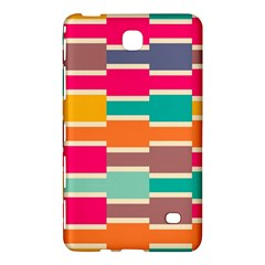 Connected colorful rectangles			Samsung Galaxy Tab 4 (7 ) Hardshell Case