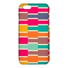 Connected colorful rectanglesiPhone 6/6S TPU Case