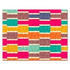 Connected colorful rectangles			Jigsaw Puzzle (Rectangular)