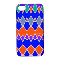 Rhombus chainsApple iPhone 4/4S Hardshell Case with Stand