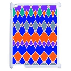 Rhombus chains			Apple iPad 2 Case (White)