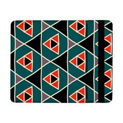 Triangles in retro colors patternSamsung Galaxy Tab Pro 8.4  Flip Case