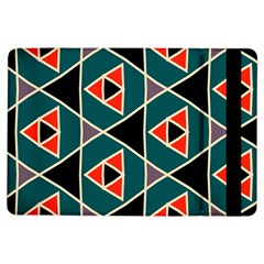 Triangles In Retro Colors Pattern			apple Ipad Air Flip Case