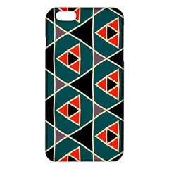 Triangles in retro colors pattern			iPhone 6 Plus/6S Plus TPU Case