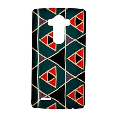 Triangles in retro colors patternLG G4 Hardshell Case