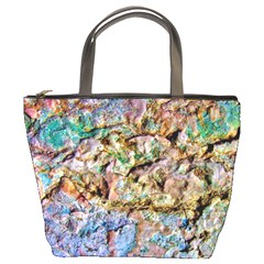 Abstract Background Wall 1 Bucket Bags