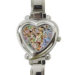 Abstract Background Wallpaper 1 Heart Italian Charm Watch