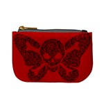 Lacy Skull Coin Change Purse Front