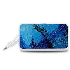 Rockscape Portable Speaker (White)