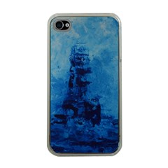 Lost At Sea Apple iPhone 4 Case (Clear)