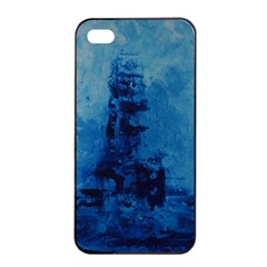 Lost At Sea Apple iPhone 4/4s Seamless Case (Black)
