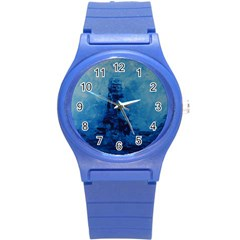 Lost At Sea Round Plastic Sport Watch (S)