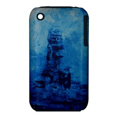 Lost At Sea Apple iPhone 3G/3GS Hardshell Case (PC+Silicone)