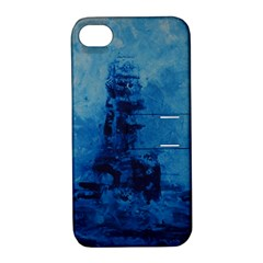 Lost At Sea Apple iPhone 4/4S Hardshell Case with Stand