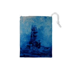 Lost At Sea Drawstring Pouches (Small)