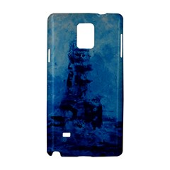 Lost At Sea Samsung Galaxy Note 4 Hardshell Case
