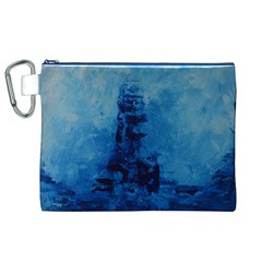 Lost At Sea Canvas Cosmetic Bag (XL)
