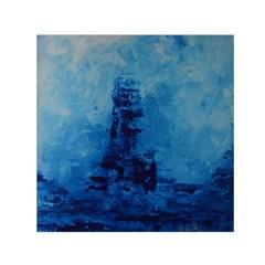 Lost At Sea Small Satin Scarf (square)