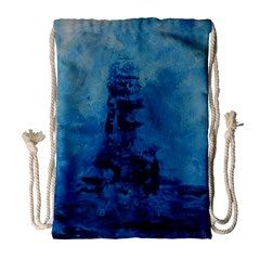 Lost At Sea Drawstring Bag (large)