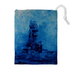 Lost At Sea Drawstring Pouches (Extra Large)