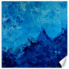 Waves Canvas 20  x 20