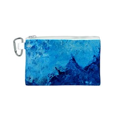 Waves Canvas Cosmetic Bag (S)