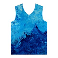 Waves Men s Basketball Tank Top