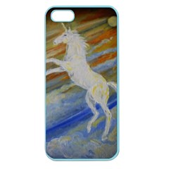 Unicorn In The Sky  Apple Seamless iPhone 5 Case (Color)