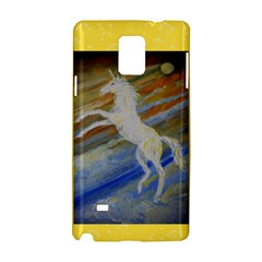 Unicorn In The Sky  Samsung Galaxy Note 4 Hardshell Case