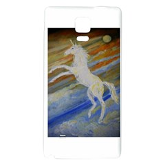 Unicorn In The Sky  Galaxy Note 4 Back Case