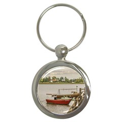 Santa Lucia River In Montevideo Uruguay Key Chains (Round)