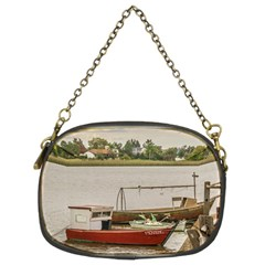 Santa Lucia River In Montevideo Uruguay Chain Purses (Two Sides)
