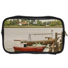 Santa Lucia River In Montevideo Uruguay Toiletries Bags 2-Side