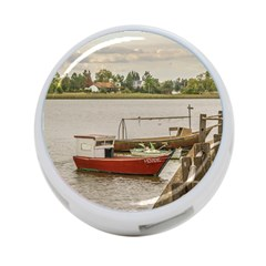 Santa Lucia River In Montevideo Uruguay 4-Port USB Hub (Two Sides)