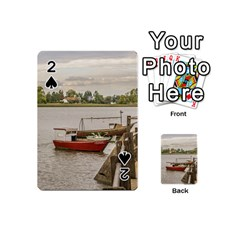 Santa Lucia River In Montevideo Uruguay Playing Cards 54 (Mini)