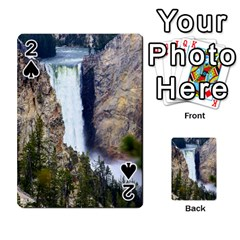 Yellowstone Waterfall Playing Cards 54 Designs