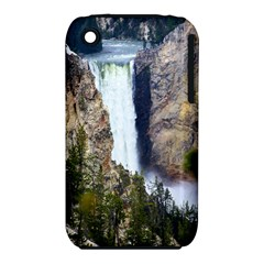 YELLOWSTONE WATERFALL Apple iPhone 3G/3GS Hardshell Case (PC+Silicone)