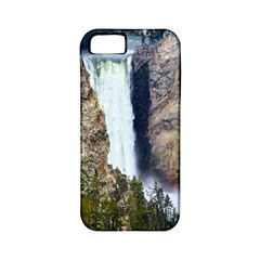 YELLOWSTONE WATERFALL Apple iPhone 5 Classic Hardshell Case (PC+Silicone)